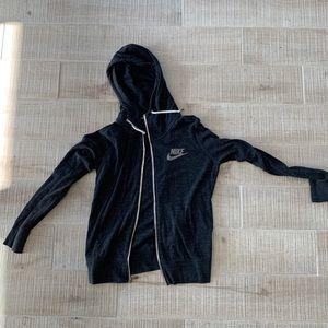 Nike women's zip hoodie M